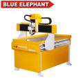 China barato máquina de corte de alumínio 3d mini cnc router 6090 com tanque de água