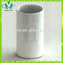 Mordern Home Decor Weißer Zylinder Keramik Vase