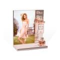 Acrylic Elegant Perfume Display Stand Showcase