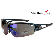 Mens / Womens Polarized Sport Sunglasses , Tinted Outdoor Climbing Glasses