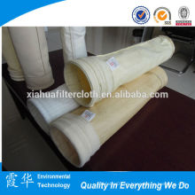 Alta temperatura 100% pps bolsa de filtro de aspiradora