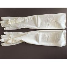 Medizinische sterile Einweggynäkologische Latexhandschuhe