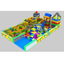 LULU safty playground colorido grande crianças EPP blocos de construção