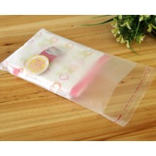 Matte Clear Plastic Self-adhesive