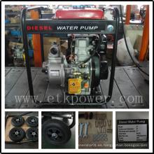 """Bomba de agua diesel de 2 """"con repuestos de buena calidad"""