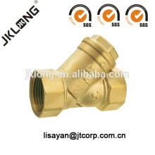 J5006 Forging brass strainer water filter water valve