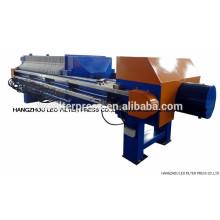 Filtro Leo Presione prensa de filtro de deshidratación de agar de agar automático