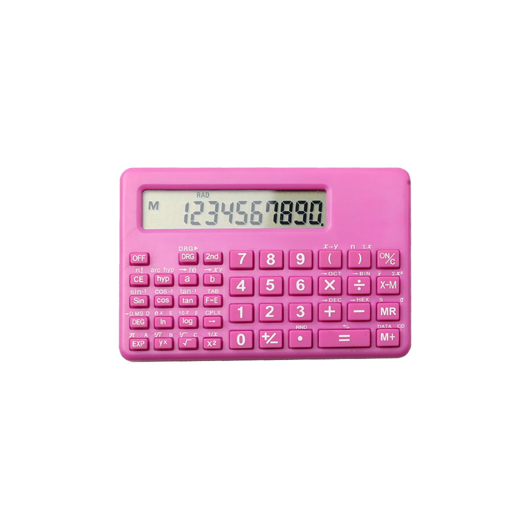 10 Digits Displayed Mini Pocket Scientific Calculator