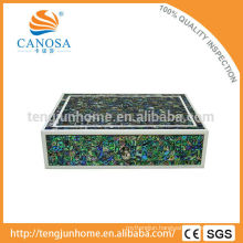 Hotel Amenity Luxury Abalone Shell Storage Box in Zigzag Shape