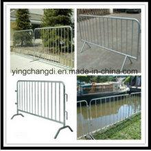 Top Qualität Niedriger Preis Portable Abnehmbare Kunststoff Crowd Control Barrier