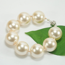 Popular Design for for Link Charm Bracelets 10mm Big size Ivory Bracelet Beads export to Thailand Factory