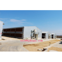 Equipo de granja automático en la granja avícola con diseño económico