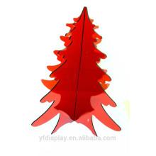 Sapin de Noël Acrylique Rouge