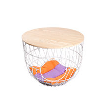 Furniture Convertible Round Side Table