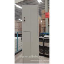 armário de aço moderno do banheiro