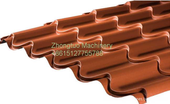 glazed tile sheet