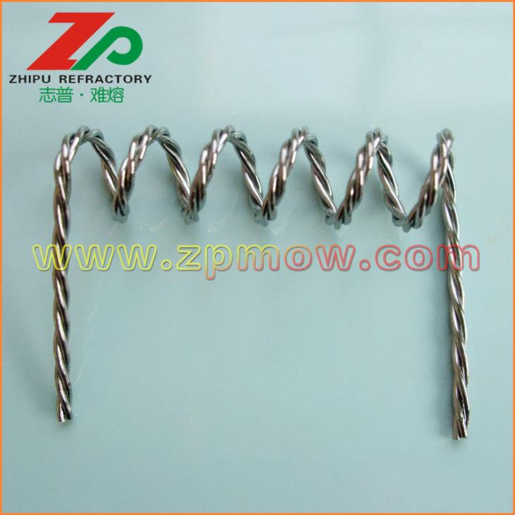 99.95% High temperature tungsten wire is the main products of our company. 99.95% High temperature tungsten wire is widely used in industrial, eapecially used in single crystal furnace and vacuum furnace.