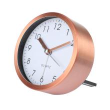 Hot sale  Home Decoration Aluminum Table Clock modern