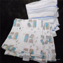 Hot sales 100% envoltório do swaddle do bebê do algodão orgânico Hot sales 100% envoltório do swaddle do bebê do algodão orgânico