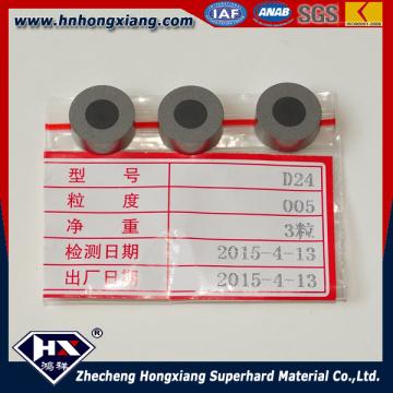 Placas redondas de PCD de diamante de China para el dibujo de alambre