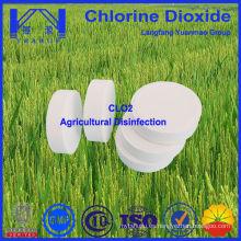 Desinfectante de dióxido de cloro para la desinfección de la agricultura