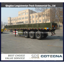 "40"" Platform Semi-Trailer with Side Wall"