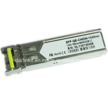 Drittanbieter SFP-Ge-CWDM-1550nm Faseroptischer Transceiver Kompatibel mit Cisco Switches