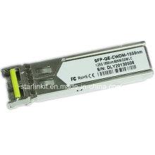 Transceptor de fibra ótica SFP-Ge-CWDM-1550nm de terceiros compatível com Switches Cisco