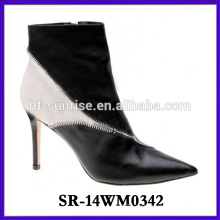 Sexy High Heel Knöchel Schuhe Frau Stiefel