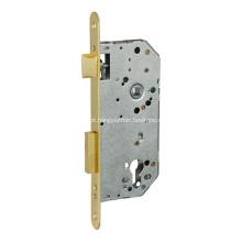 fechadura de porta de encaixe com trava e trava