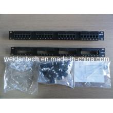 "19"" 24 Port Keystone UTP Cat5e Patch Panel (WD6A-008)"