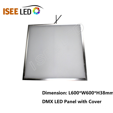 600 * 600mm plafond et mur DMX LED Light Panel