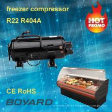 CE rohs R404A R22 boyard a pie en un compresor de cámara fría para el escaparate de la exhibición de refrigerador alimentos fríos