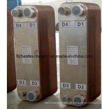 Intercambiador de calor de placas soldadas con líquido (puede reemplazar a Alfalaval)