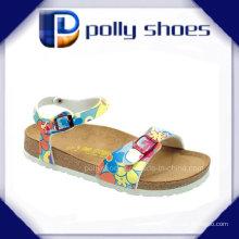 Sandale de plage nue de style Little Girls