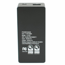 Professional China for Lithium Power Bank UL Certified 4400mah Compact Design Power Bank supply to Macedonia Factories