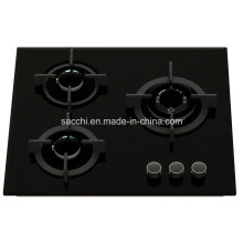 3 Burner Tempered Glass Gas Hob -Gna360