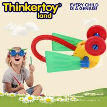 Plástico educativo bricolage crianças brinquedo para o treinamento do cérebro
