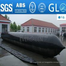 Airbags de borracha marinhos infláveis para o lançamento do navio, transportando para fora, desembarque, navios de salvamento do navio, Refloation, levantamento pesado