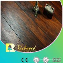 12.3mm AC4 Hand geschabter Kirsch V-gerillter lamellierter Fußboden