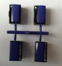 Double color injection plastic molding