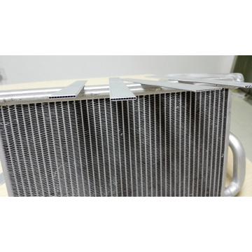 Kundenspezifische Aluminium-Wärmeübertragungsflosse Folie 76mm / 150mm / 200mm Aluminiumfolie Spule
