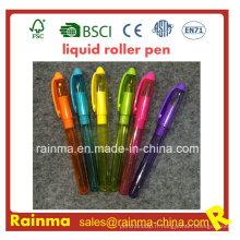 Stylo plume liquide en plastique avec une belle couleur Mulit