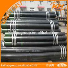 API tubo de tubería de campo de petróleo / tubo de acero precio más bajo fábrica de China
