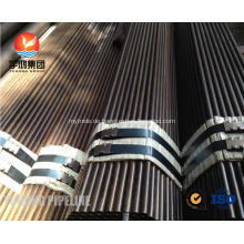 Legierter Stahl-nahtloses Rohr ASTM A209 T1, T1A, T1B, ASTM A210 A1, DIN 1629 St52.4, St52, oild Oberfläche, normales Ende, M / W