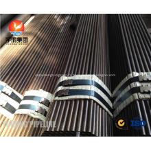 Tube sans soudure d'acier allié ASTM A209 T1, T1A, T1B, ASTM A210 A1, DIN 1629 St52.4, St52, surface d'oild, bout droit, M / W