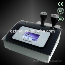 Alta calidad 1mhz ultrasonido cavitación grasa celulitis máquina de uso doméstico cuidado facial
