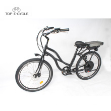 48v 1000w rear hub motor electric beach cruiser bike for girls
