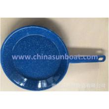 Sunboat Enamel Frying Pan /Baking Plate Kitchenware/Paella Pan