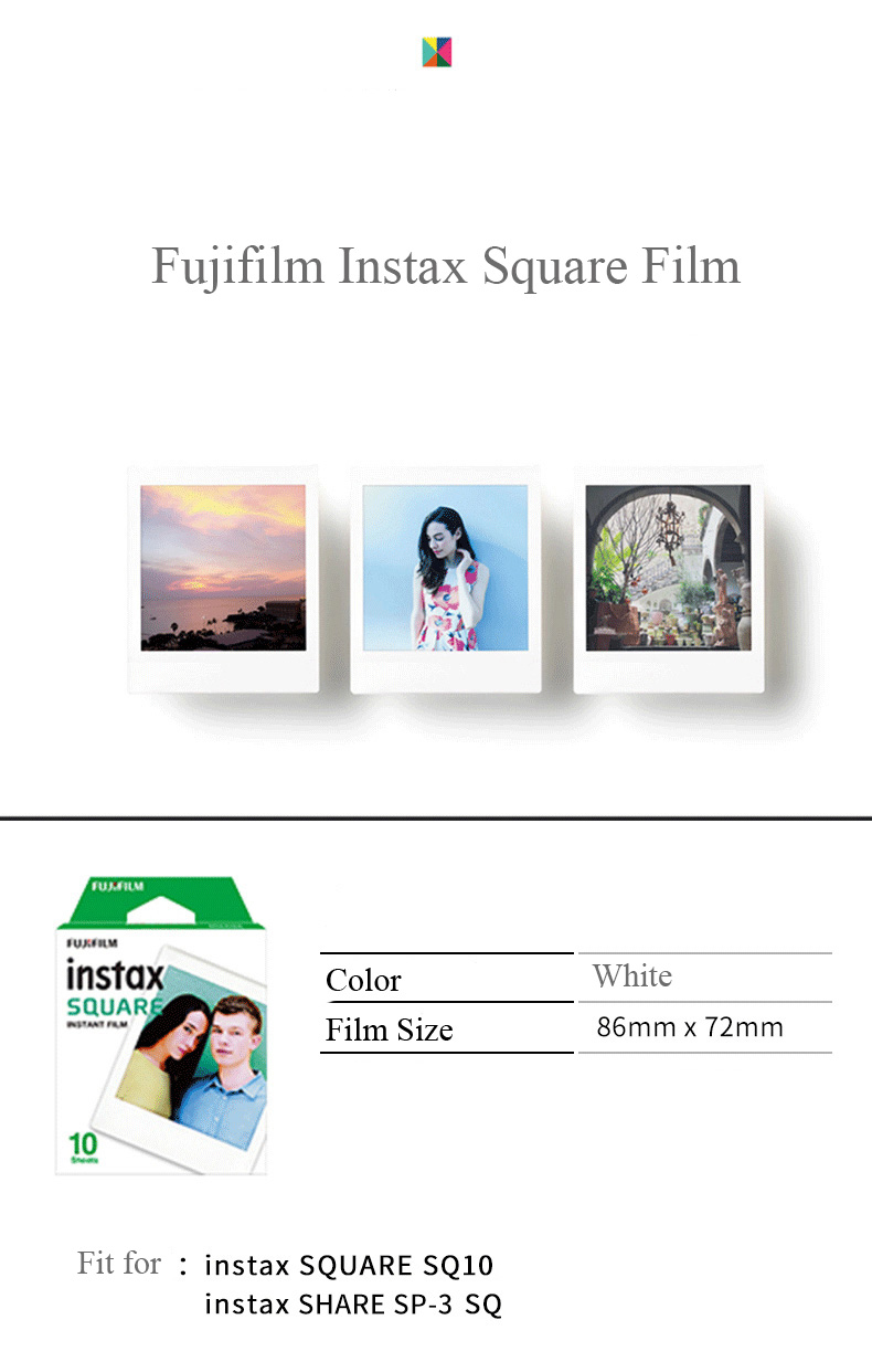Instax Square Film Detail